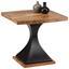 Konferenčný Stolík Django - čierna/farby akácie, Štýlový, kov/drevo (55/50/55cm) - Premium Living