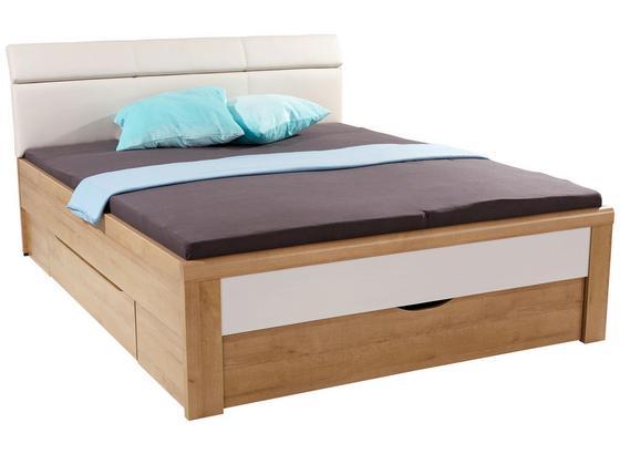 stauraumbett leoben 180x200 eiche riviera online kaufen. Black Bedroom Furniture Sets. Home Design Ideas