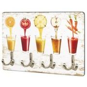 Schlüsselboard Key B: ca. 30 cm Multicolor - Multicolor, Basics, Holzwerkstoff/Metall (30/21/5cm)