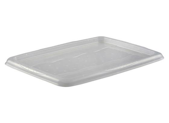 Boxdeckel Emilia - Transparent, Basics, Kunststoff (40/55,5cm)