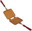 Livington Copperline Pfanne Flipwich - Rot, MODERN, Metall (16,5/48/37cm) - Mediashop