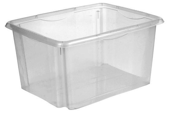 Box Emil - Transparent, KONVENTIONELL, Kunststoff (41/34,5/22cm)