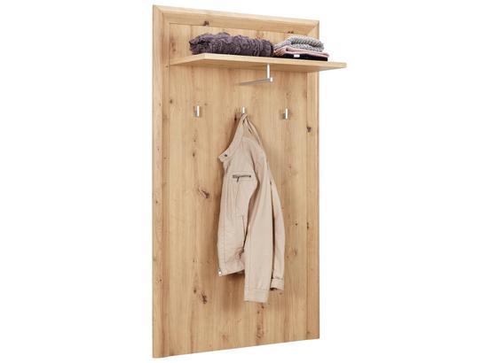 Garderobenpaneel Kashmir New - Eichefarben, MODERN, Holzwerkstoff (84/145/32cm) - James Wood