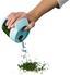 Schüttdose Bruni 0,25 Liter - Klar/Weiß, KONVENTIONELL, Kunststoff (11/9/9,5cm)