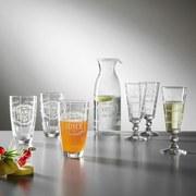 Gläserset Proseccoglas-Set,nino ca.230ml - Klar, MODERN, Glas (6,78/17,15cm) - Luca Bessoni