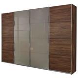 Skriňa S Posuvnými Dverami Bensheim - farby dubu/fango, Moderný, kompozitné drevo/sklo (361/230/62cm) - James Wood