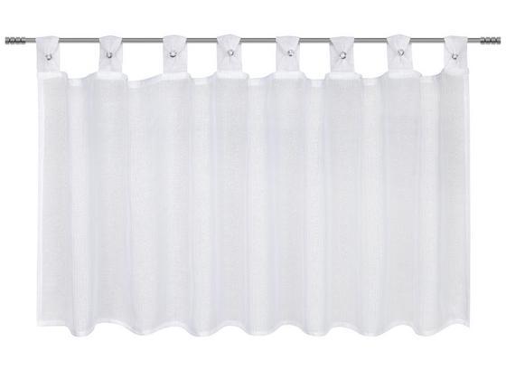 Záclona Krátká Kerstin - bílá, textil (140/50cm) - Mömax modern living