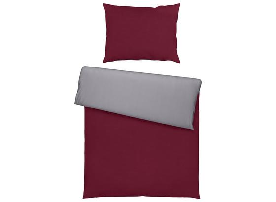 Povlečení Belinda - bordeaux/barvy stříbra, textil (140/200cm) - Premium Living
