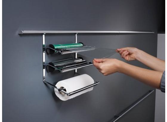 Küchenrollenhalter Linero 2000 - Edelstahlfarben, Metall