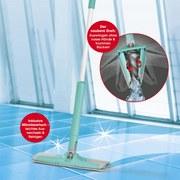 Cleanmaxx Wischmop Twist And Go, 2tlg. - Türkis, Basics, Kunststoff/Textil (34/12/134cm) - TV - Unser Original