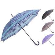 Regenschirm Felize Ø 57 cm - Blau/Violett, Kunststoff (57cm)