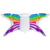 Luftmatratze Rainbow Butterfly - Multicolor, KONVENTIONELL, Kunststoff (297/165/28cm) - Bestway