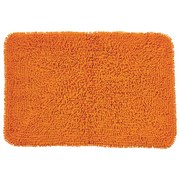 Badematte Lilly - Orange, KONVENTIONELL, Textil (60/90cm) - OMBRA