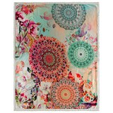 Kuscheldecke Nandini - Multicolor, Textil (130/160cm)