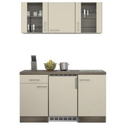 Küchenblock Eico 150 cm Magnolie - Eichefarben/Magnolie, MODERN, Holzwerkstoff (150/60cm)