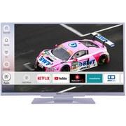 40 Zoll Fernseher Led 40.74 Fts Fhd Smart TV - Silberfarben, MODERN, Metall (89,5/57/22cm) - Silva Schneider