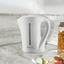 Rýchlovarná Kanvica Noah - Top - - biela, plast (23/11,5/23cm)