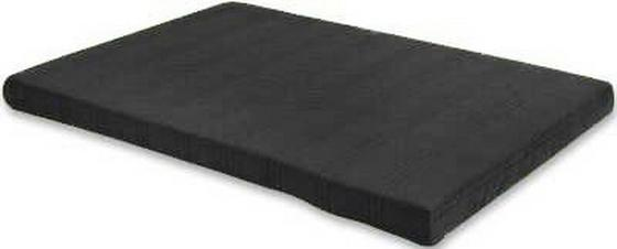 Bonellfederkernmatratze Kim 140x200 cm - Schwarz, MODERN, Textil (140/200cm)
