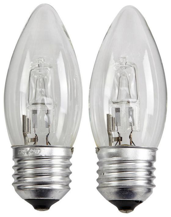 Halogen-Leuchtmittel Doppelpack - Klar, KONVENTIONELL (3,7/10cm)