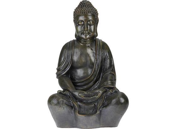 Buddha Manga -top- - hnědá, Lifestyle, umělá hmota (44/34/68cm) - Mömax modern living