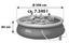Aufstellpool Set Fast 57321 Ø 396 X H 84 cm - Blau/Weiß, Kunststoff (396/84cm) - Bestway
