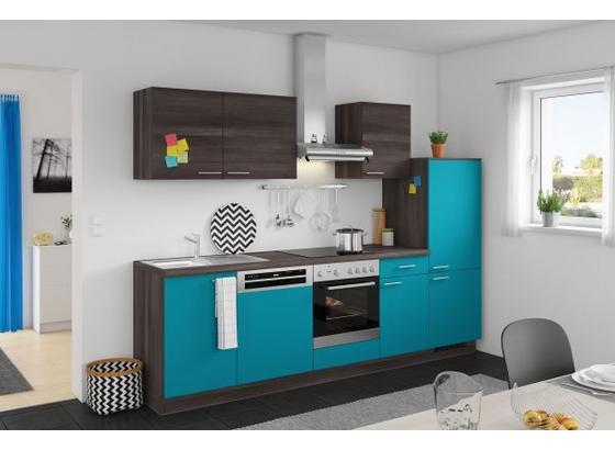 k chenzeile mit 5 e ger ten und sp le. Black Bedroom Furniture Sets. Home Design Ideas