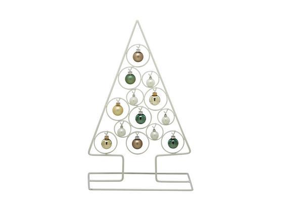 Dekoračný Strom Christmas Tree - biela, Štýlový, kov (58cm) - Mömax modern living