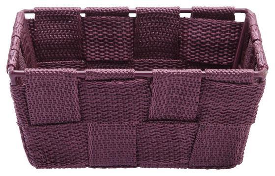 Úložný Košík Nelly - farba lila, umelá hmota (15/10/5,5cm)