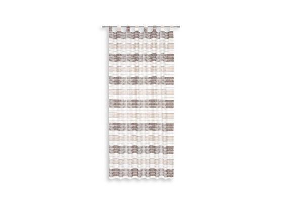 Kombivorhang Ena - Weiß, MODERN, Textil (140/255cm) - Luca Bessoni