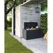 Kissenbox Moby Chest - Anthrazit, KONVENTIONELL, Kunststoff (118/55/49cm)