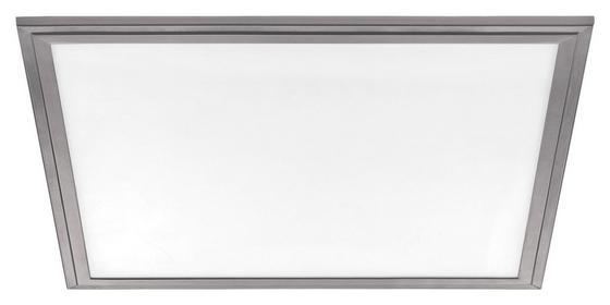 LED-Deckenleuchte Salobrena 2 - Weiß/Grau, MODERN, Kunststoff/Metall (45/45/1,1cm)