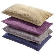Zierkissen Venezia - Sandfarben/Blau, KONVENTIONELL, Textil (48/48cm) - OMBRA