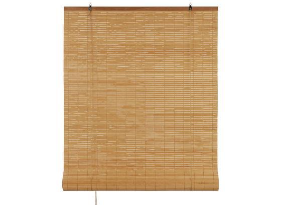Roleta Woody - hnedá, Štýlový, drevo (80/240cm) - Mömax modern living