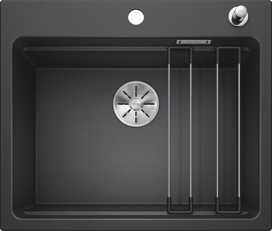 Spüle Blanco Etagon 6 - Anthrazit, MODERN, Stein (60/22/51cm) - Blanco