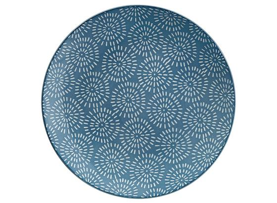 Dezertný Tanier Nina - modrá, keramika (20cm) - Mömax modern living