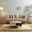 Pohovka Mina - prírodné farby, Moderný, drevo/textil (190/81/78cm) - Modern Living