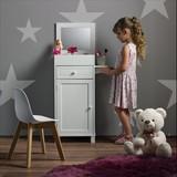 Skřiňka Pro Děti Julien - bílá, Moderní, dřevo/sklo (37,6/81,3/32cm) - Mömax modern living