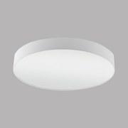 Deckenleuchte Pasteri - Weiß, MODERN, Textil/Metall (76/15cm)