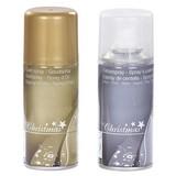 Glitzerspray 150 ml - Silberfarben/Goldfarben, KONVENTIONELL (0,15l)