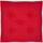 Sitzkissen Lore - Rot, MODERN, Textil (40/40cm) - Ombra