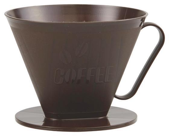 Kaffeefilterhalter Braun - Braun, KONVENTIONELL, Kunststoff (18cm) - Fackelmann