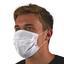 Hygienemaske 6 Stück - Weiß, KONVENTIONELL, Textil