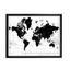 Obraz World - bílá/černá, kompozitní dřevo/umělá hmota (65/50/3,5cm) - Mömax modern living