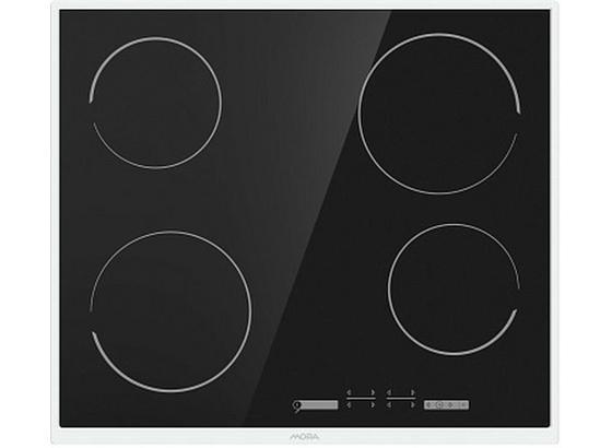 Sklokeramická Varná Deska Vdst 641 X   (mora) - černá/barvy nerez oceli, Basics, kov/sklo (59,5/5,4/52cm) - Mora