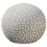 Dekokugel Ø 13 cm - Grau, MODERN, Stein (13cm)