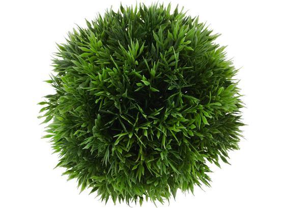 Trávová Guľa 15 Cm - zelená, plast (15cm) - Mömax modern living