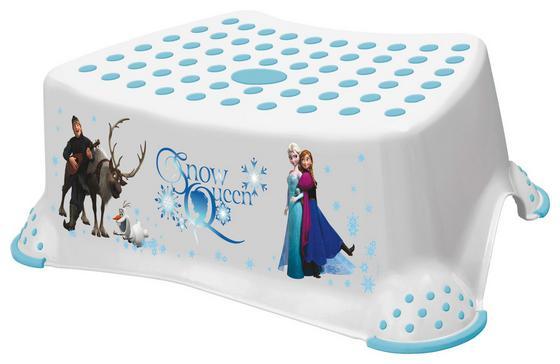 Tritthocker Frozen - Blau/Weiß, Kunststoff (40,5/28,5/14cm) - Disney