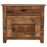 Kommode Marbella B: 67 cm Mangoholz - Naturfarben, Basics, Holz (67/60/30cm)