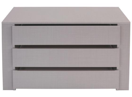 Sada Zásuviek Katrin/new York/fly/diver/anna - sivá, Moderný, drevo/kompozitné drevo (87/54/42cm)