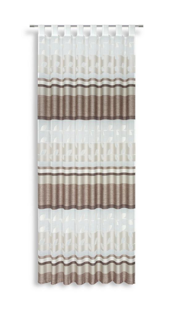 Kombivorhang Meila - Beige, KONVENTIONELL, Textil (140/255cm) - Luca Bessoni